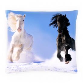 """ФотоПодушка """"Великолепные кони"""""""