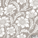 ФотоШторы Цветочный узор с белыми цветами
