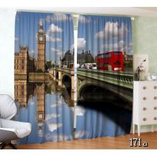 """ФотоШторы """"Лондон. Вид на Темзу"""""""
