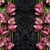 """ФотоШторы """"Орхидеи на серо-черном фоне"""""""
