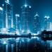 "ФотоШторы ""Ночной Шанхай. Китай"""