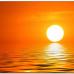 ФотоШторы  Абстрактный фон с закатом