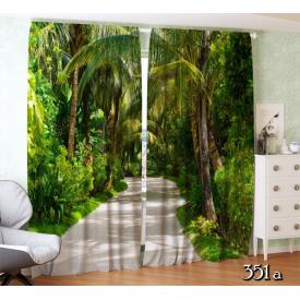 ФотоШторы Дорога в тропическом парке