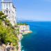 ФотоШторы  Монако. Берег у моря.