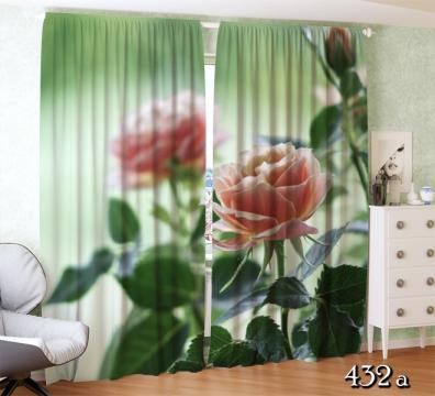 """Фотошторы """"Чайные розы"""""""