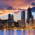 """Фотошторы """"Чикаго вечером"""""""