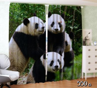 """Фотошторы """"Счастливые панды"""""""