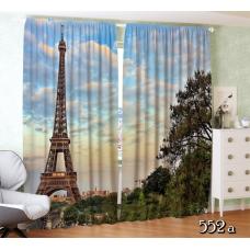 """Фотошторы """"Чудесный Париж"""""""