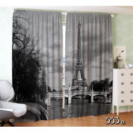 """Фотошторы """"Париж. Черно-белая фотография"""""""