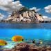 """ФотоШторы """"Остров в океане"""""""