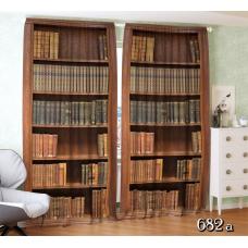 ФотоШторы Книжный шкаф
