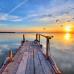 ФотоШторы Мост в море