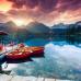 ФотоШторы Лодки у пристани