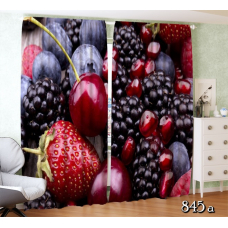 ФотоШторы Коллаж ягоды