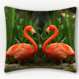 """ФотоПодушка """"Фламинго"""""""