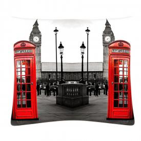 """ФотоПодушка """"Телефонные будки в Англии"""""""