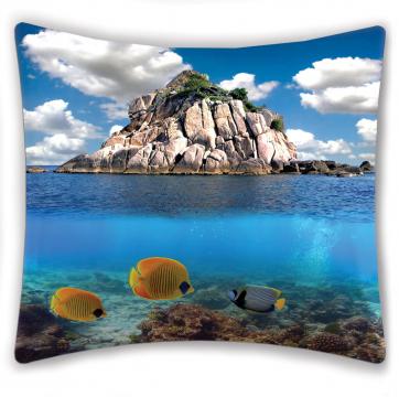 """ФотоПодушка """"Остров в океане"""""""