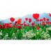 """Фотошторы """"Тюльпаны в горах"""""""