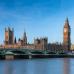 """Широкие фотошторы """"Биг Бен и Парламент в ясный день"""